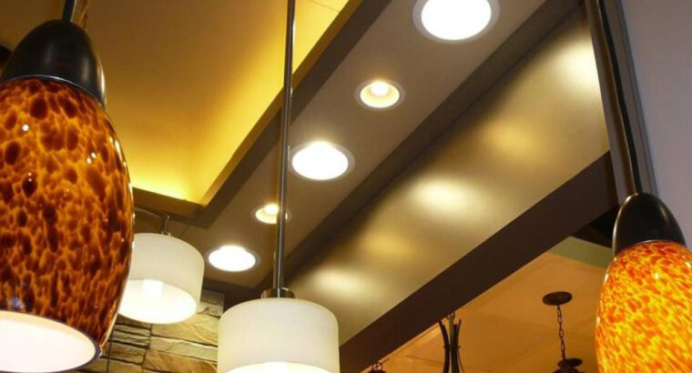 Light Fixture Replacement – Up to 2 Fixtures