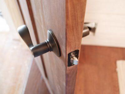 Door handle Installation
