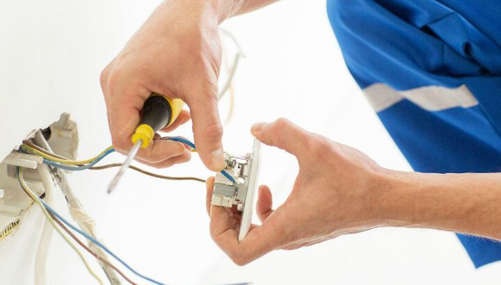 Repair or replace an old switch, fixture or outlet