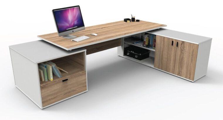 โต๊ะทำงานผู้บริหาร (EX-002-LDROPSW)
