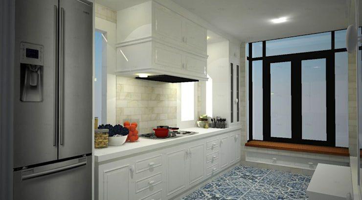 ออกแบบและก่อสร้าง ห้องครัว แนว Contemporary